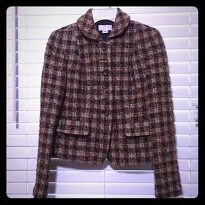 Ann Taylor LOFT Wool Blazer and Matching Skirt, 0P